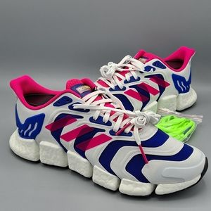 NEW Mens Adidas Climacool Vento Shock Pink Shoes